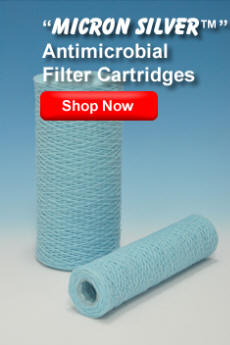 Micron Silver Antibacterial Filter Cartridges | MICRON Filter Cartridge Corp