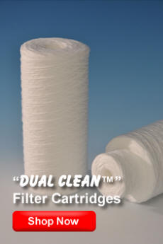 Micron Dual Clean Filter Cartridges | MICRON Filter Cartridge Corp